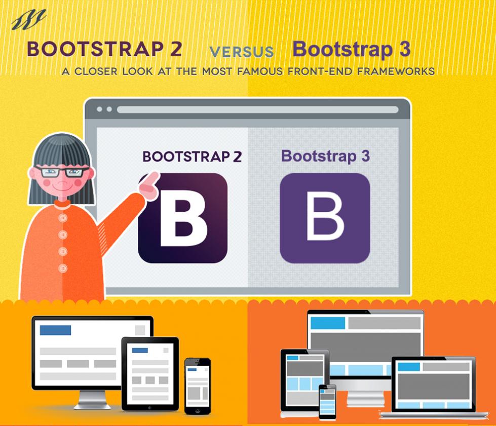 bootstrap2 Vs 3 Img