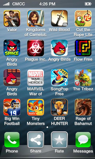 top free iphone games crafted battle and temple run top iphone charts webmuch 1846