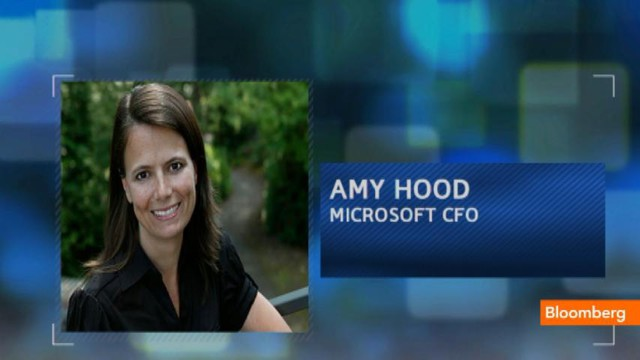 Amy Hood The New Cfo Microsoft Webmuch